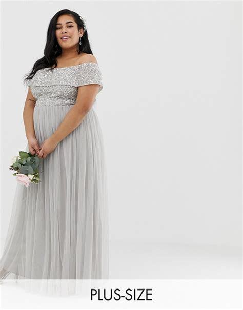 The Best Places to Shop for Plus Size Bridesmaids Dresses