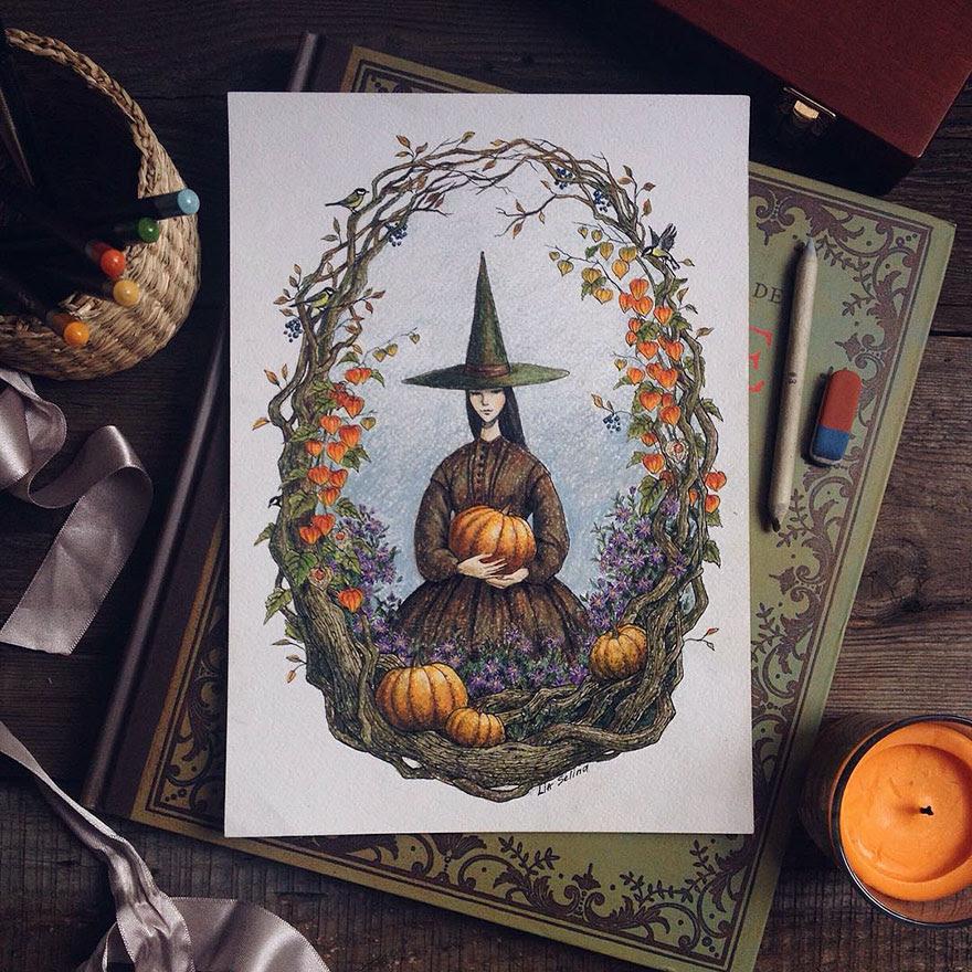 ilustraciones-cuentos-hadas-lapices-colores-lia-selina (19)