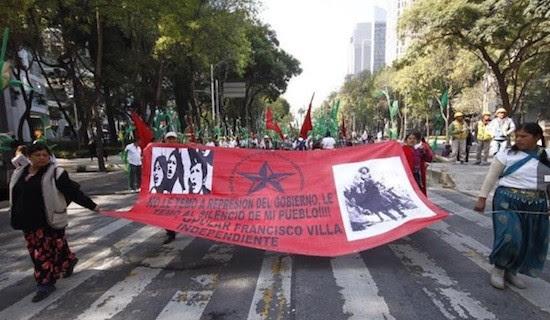 Pancho Villa reivindicacion México: aparece asesinado el primero de los 43 estudiantes normalistas desaparecidos