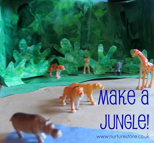 jungle theme preschool craft