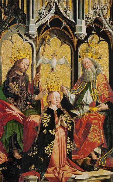 Image: Michael Pacher - M.Pacher / Coronation of the Virgin Mary