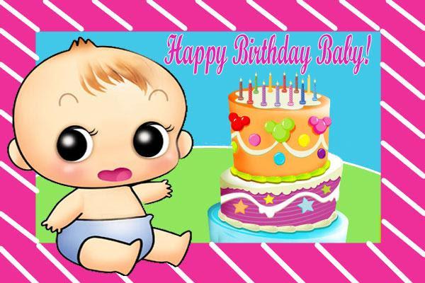 Send Free Ecard Happy Birthday Baby From Pak101com