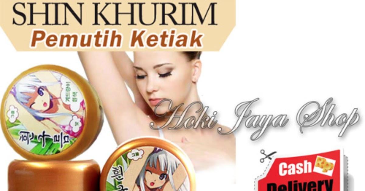 Khurim Pemutih Ketiak dan Selangkangan Premium - 1 Pcs + Gratis Masker Gold .