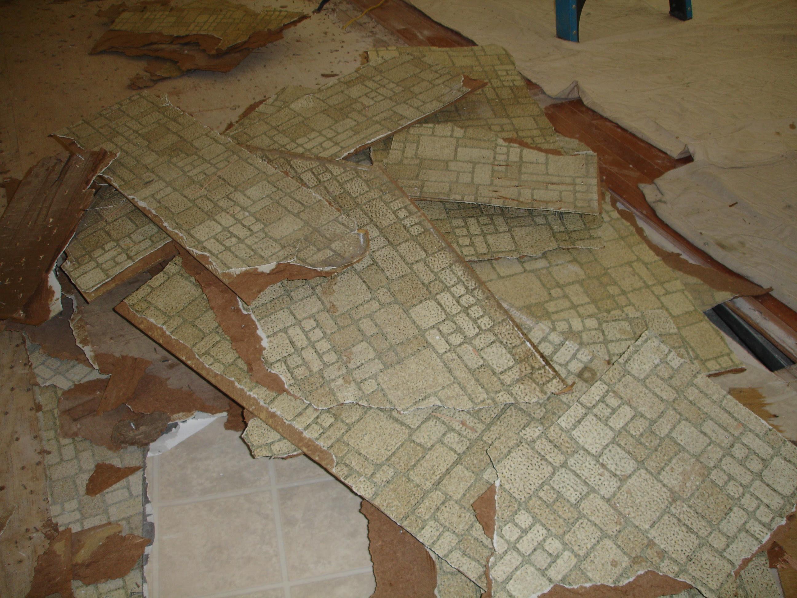 Asbestos Linoleum Identify
