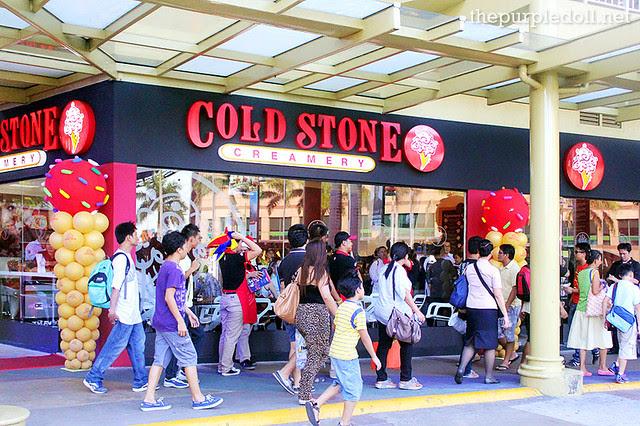 Cold Stone Creamery in Serendra