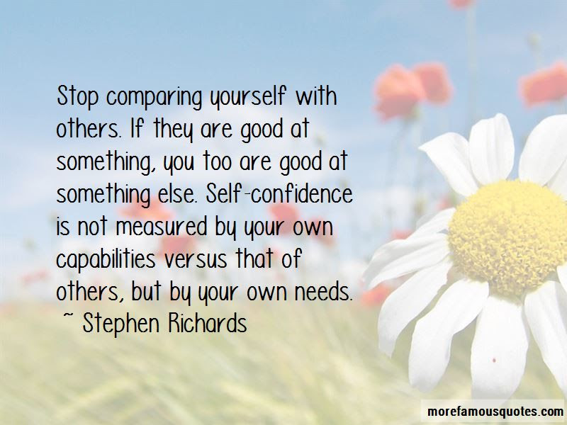 Quotes About Not Comparing Yourself To Others Top 8 Not Comparing