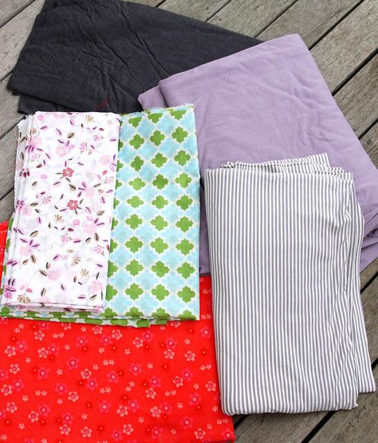 October fabric