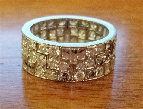 Vintage Diamond Eternity Band ? A Ring Sizing Story