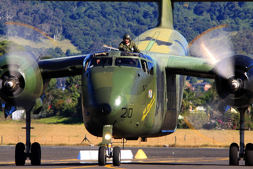 RAAF Caribou At Wings Over Illawarra Air Show 2012