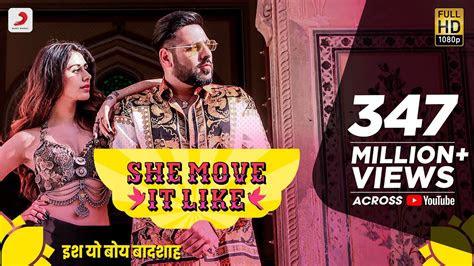 move   official video badshah warina