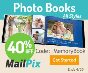 40% of Off All Photo Books