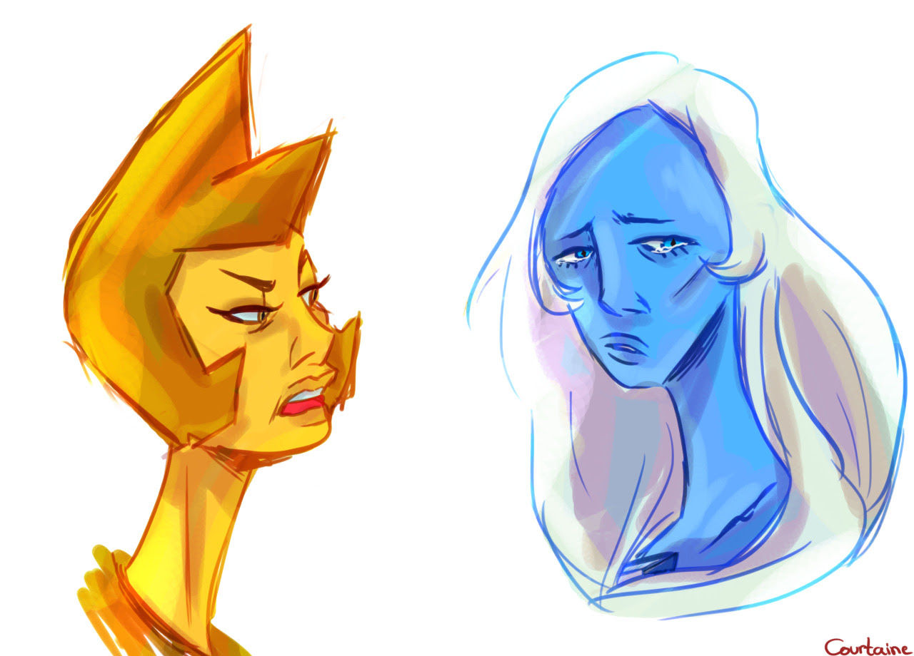 I tried to draw diamonds again…bye