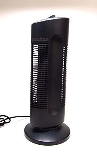 Sharper Image Ionic Breeze Quadra S1697 Air Purifier Grey