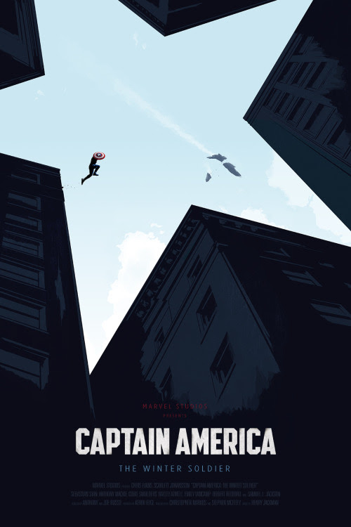 Captain America: The Winter Soldier by Oli Riches