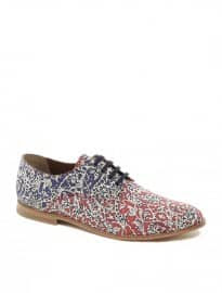 B-store Mario 36 Floral Lace-up Shoes