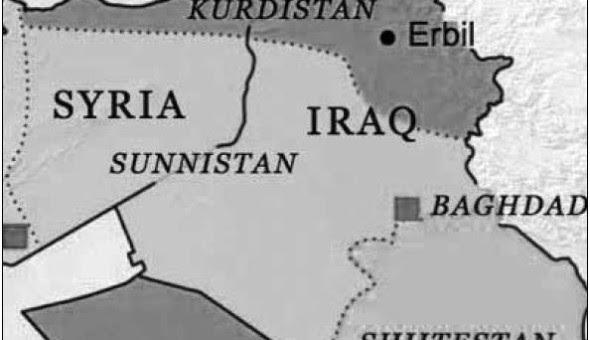 Karte-Kurdenstaat