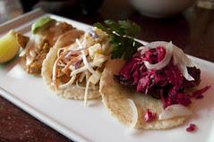 Tacos Surtidos, Colibrí Mexican Bistro, San Francisco