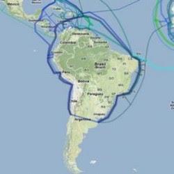El mega anillo de fibra óptica permitirá unir digitalmente a los países de UNASUR