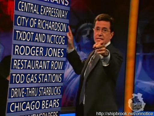 Colbert Notice Board