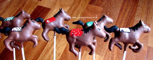 Cake Pop Horse Race!