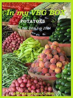 In my veg box event logo potatoes
