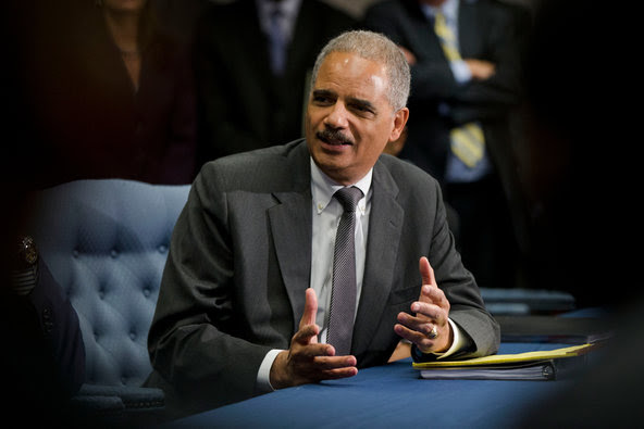 """Attorney General Eric Holder said what had been uncovered could be """"the tip of the iceberg."""""""
