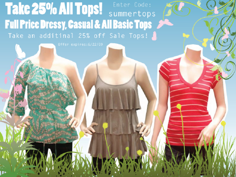 Queen Bee - Coupon Code - 25% Off Tops