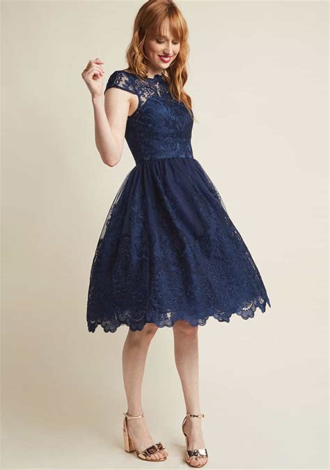 Dark Blue Dresses   Navy Dresses for Weddings