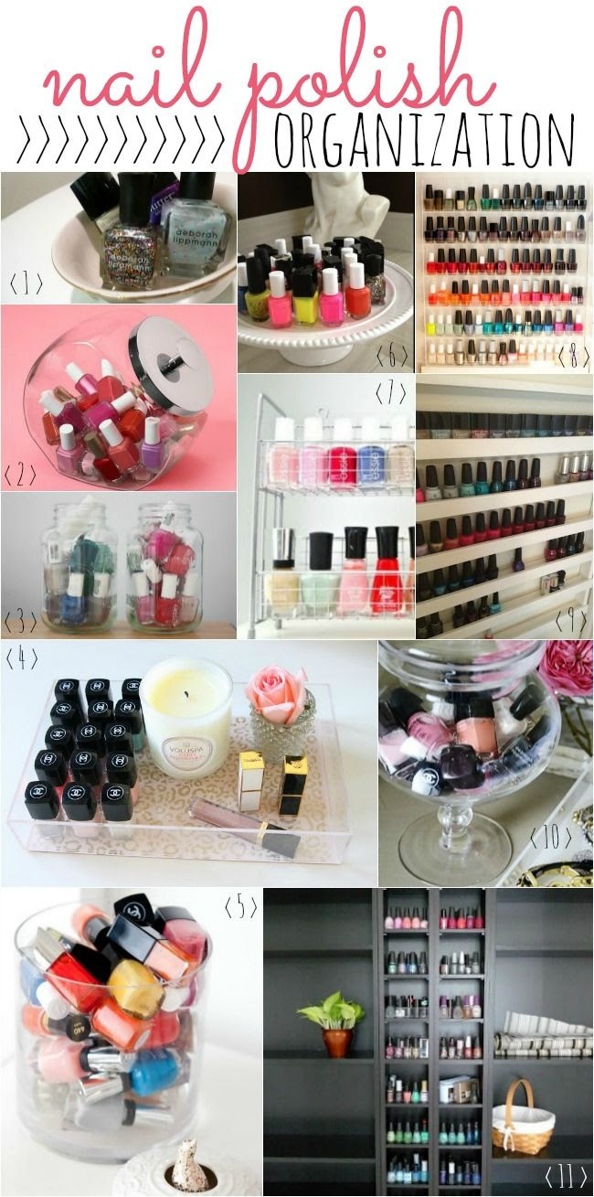 Stylish Nail Polish Organization | #beauty #nails #nailpolish #essie #organization
