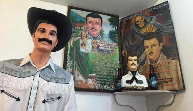 Jesús Malverde El Santo Consentido Del Narco Chilango