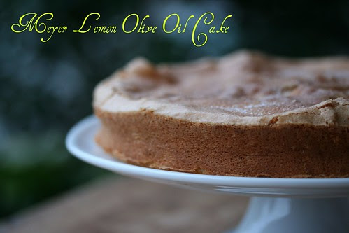 Lemon Olive Oil Cake (Gourmet Magazine)