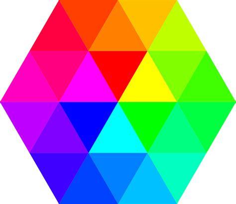 gambar vektor gratis warna hexagon palet warna gambar