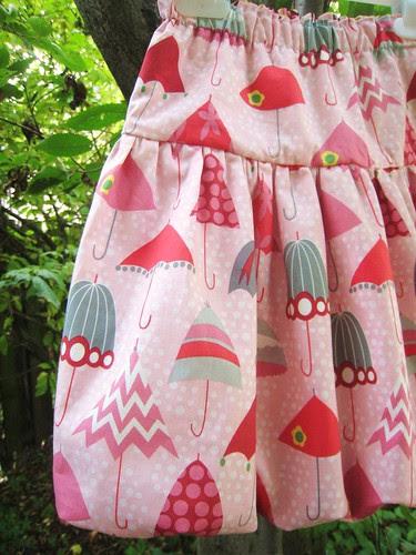 rainy days bubble skirt detail