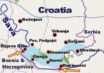 karta: Rajevo Selo Karta