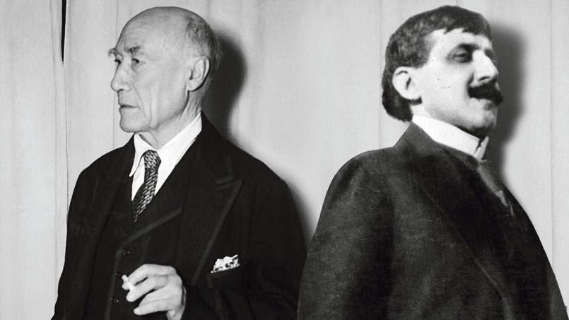 André Gide et Marcel Proust.