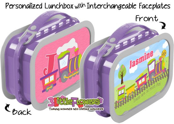 Personalized Butterfly Lunchbox