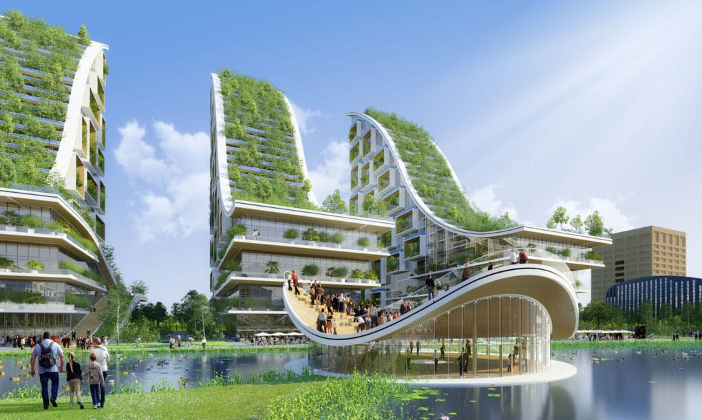 Tour Taxis belgium Vincent Callebaut 25 green sustainable architecture biomimetic design