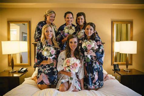 Set Of 6 Bridesmaid Robes, Silk Robe, Bridesmaids Gift