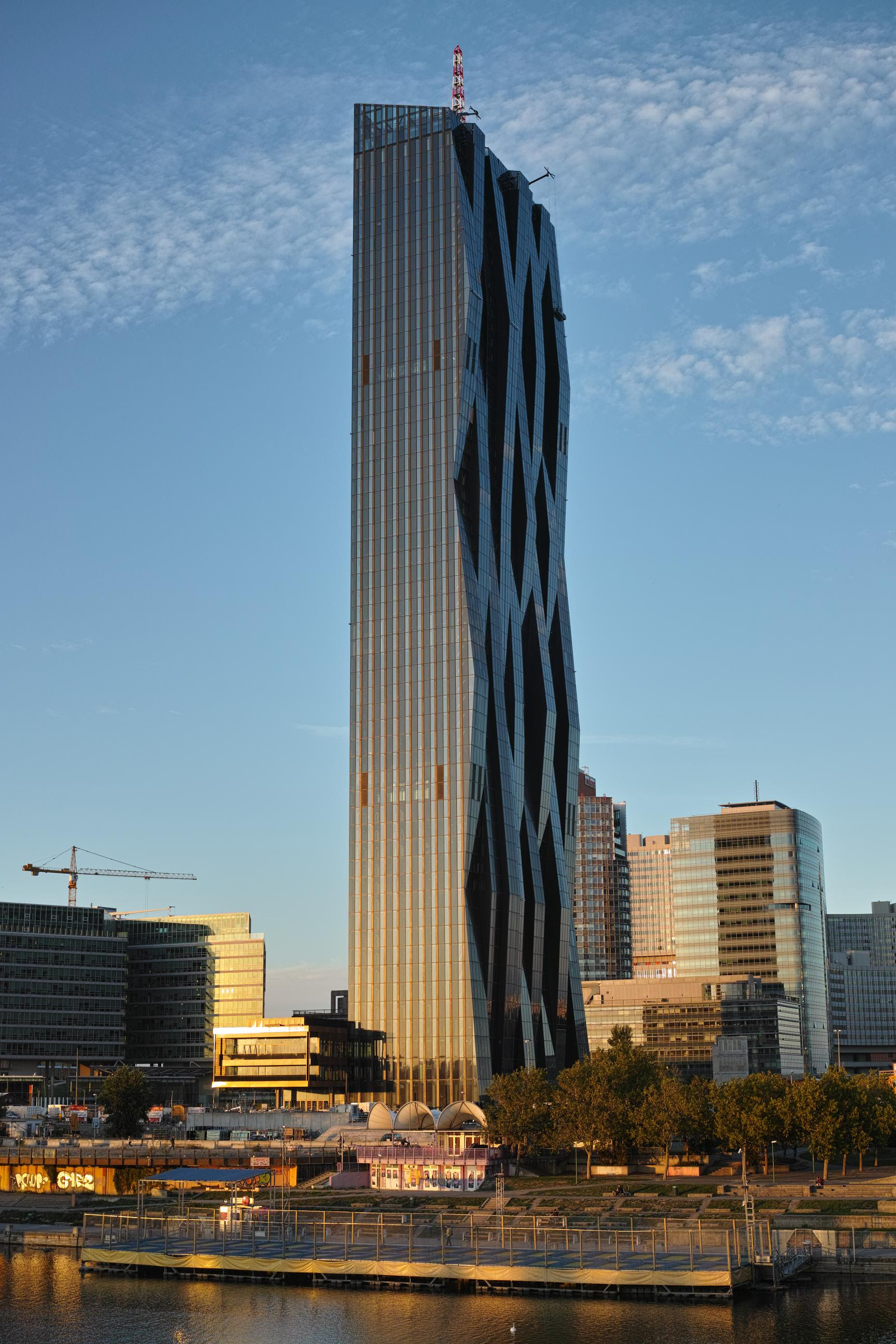 Austria - Vienna: DC Tower 220m 60floors 2013