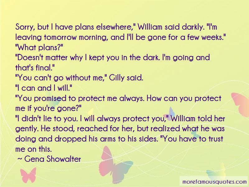 I Will Always Protect You Quotes Top 37 Quotes About I Will Always