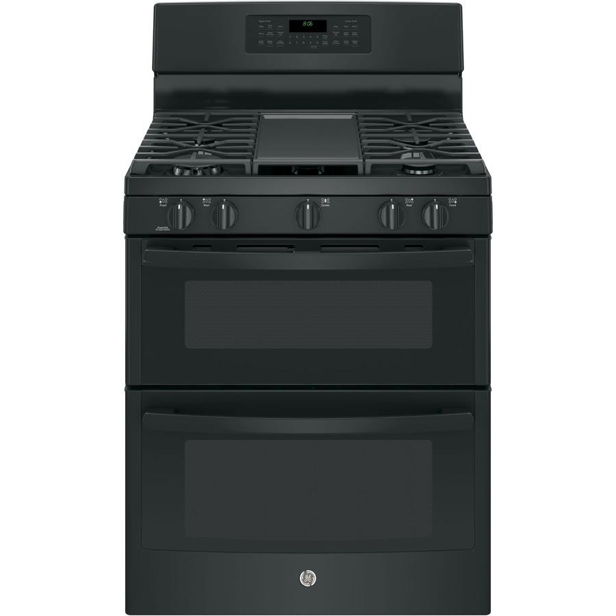 Shop GE 30-in 5-Burner/2.5-cu ft Self-Cleaning Double Oven ...