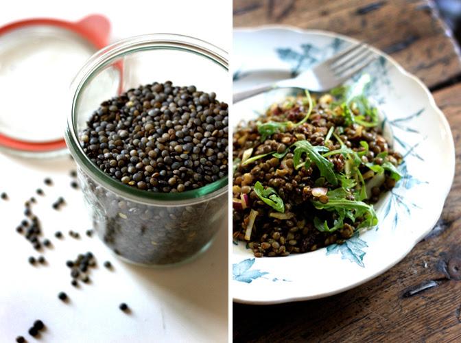 how to cook du puy lentils
