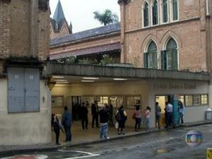 Crise financeira da Santa Casa de Misericórdia de São Paulo está atrapalhando até a realização de exames (Foto: Reprodução TV Globo)