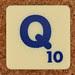 Scrabble Trickster Letter Q