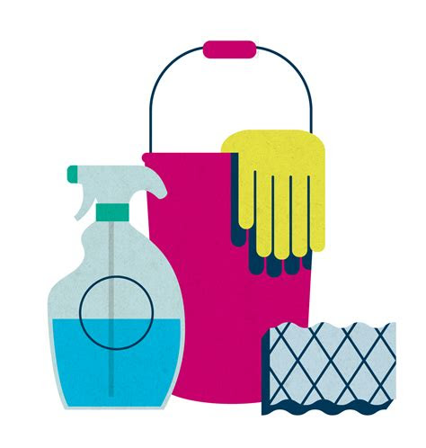 cleaning supplies clipart  clip art