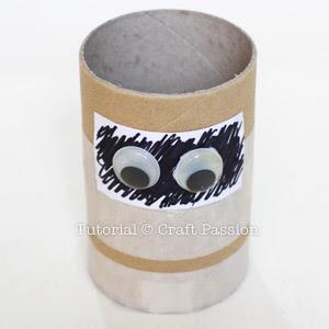 googly eyes mummy