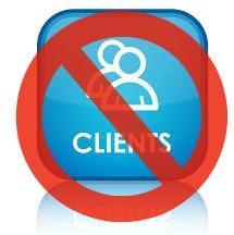 ignoring b2b Clients