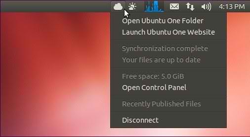 Ubuntu indicator