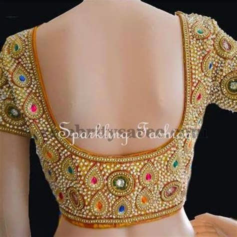 Sparkling Fashion: Heavy designer stone/kundan work
