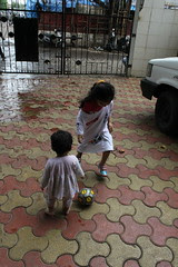 My Grand Daughters Are Born Again Football Players by firoze shakir photographerno1